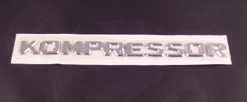 Kompressor-Chrom-Emblem-Schriftzug-selbstklebend