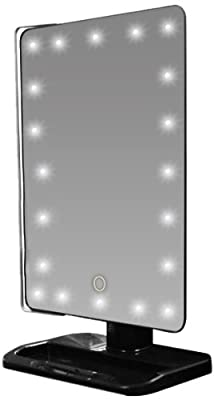 Rucci LED Lighted Movable Vanity Mirror, 10X