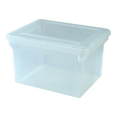 File Storage Box in Clear (File Folder Storage Box compare prices)