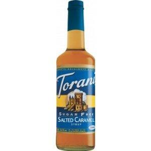 Torani Sugar Free Salted Caramel Syrup W/ Splenda, 750 Ml