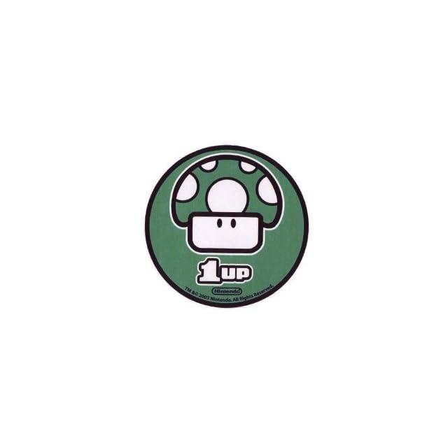 Nintendo Super Mario Bros. One Up Mushroom Sticker 96 325