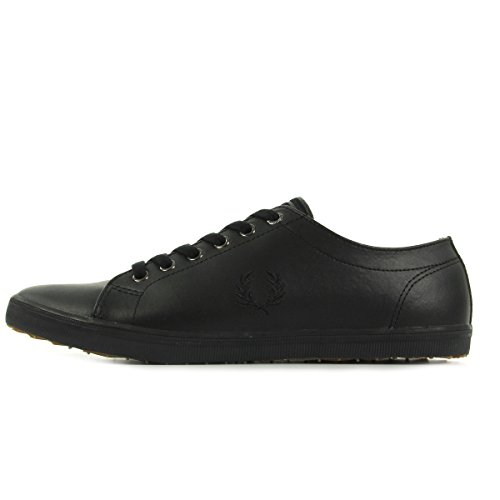 Fred Perry Kingston Leather Black B6237U102, Scarpe sportive - 43 EU
