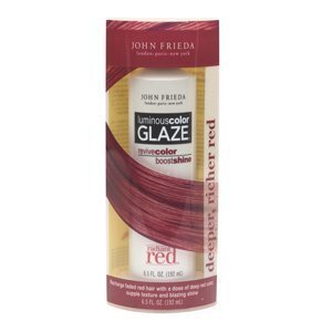 John Frieda Radiant Red Luminous Color Glaze for Deeper, Richer Shades of Red Hair