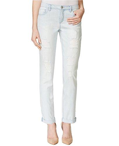 Vintage America Women's Slim Boyfriend Wash Jeans 0