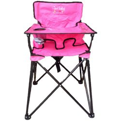 Purchase Pink Portable Travel High Chair