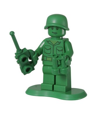 Green Army Man (Scout) - LEGO Toy Story Minifigure - 1