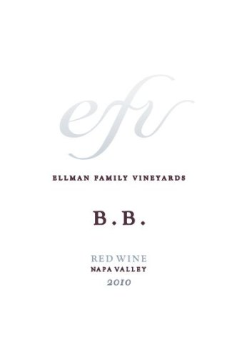 2010 Ellman Family Vineyards Brothers Blend Napa Valley Red Wine 750 Ml