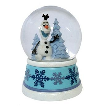 "Disney ""Olaf"" Frozen Exclusive Collectible Musical Snow Globe – Plays Let It Go"