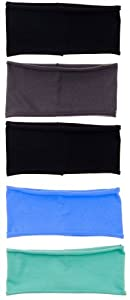 3 or 5 PACK: Single Layer Cotton Spandex 4.5