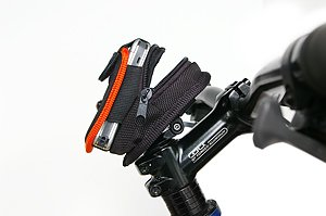 Bicycle Cell Phone Handlebar Bag on stem