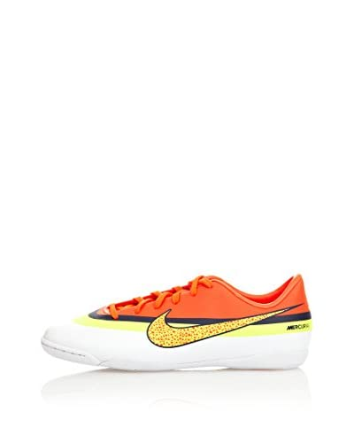 Nike Scarpa Mercurial Victory Iv Cr Jr [Bianco/Arancione/Giallo]
