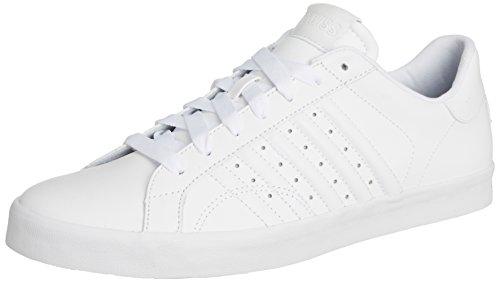 K-Swiss  Belmont,  Sneaker uomo Bianco Blanc (white/white 101) 43