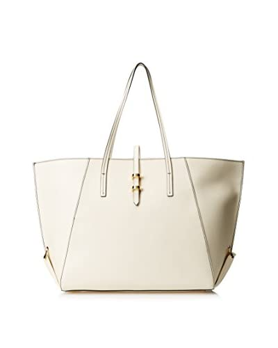 Zac Zac Posen Women's Eartha Vachetta Shopper, White
