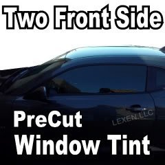 LEXEN Two Front Window Precut Tint Kit Computer Cut Tinting Glass Film Car Any Shade (Window Tint 15 compare prices)
