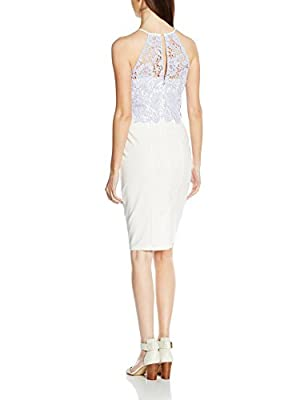 Paper Dolls Women's Crochet Overlay Dress