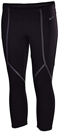 NIKE Ladies LUXE running capris tight athletic DRI - FIT pants $110 by Nike