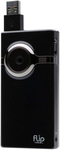 Flip MinoHD Video Camera - Black, 4 GB, 1 Hour (1st Generation) OLD MODEL