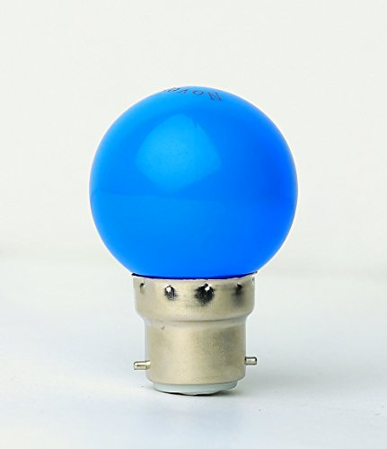 0.5W LED Bulb (Blue, Pack of 5)