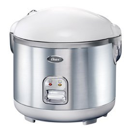 Oster 20-Cup (Cooked) Rice Cooker, Stainless Steel by Jarden Consumer Solutions