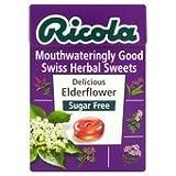 Ricola Elderflower Sugar Free Swiss Herbal Sweets 45G