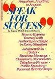 Speak for Success (0553279297) by Ehrlich, Paul R.