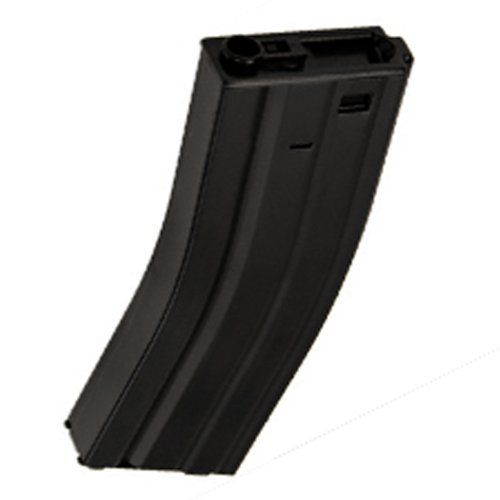 M4 / M16 - 500 Round Airsoft Hi-Cap Magazine Clip AEG Electric Rifles - METAL (M4 High Cap Magazine compare prices)