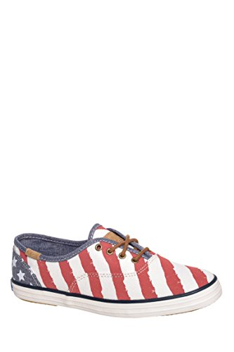 Champion Patriotic Striped Low Top Sneaker
