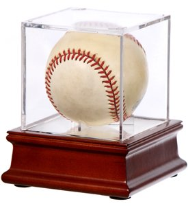 Ball Qube Acrylic Baseball Display Case