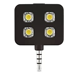 Memore 4 LED Flash Light (Black)