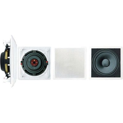 Pyle Pdiws10 - 10 In-Wall High Power Subwoofer Passive - 180 W (Rms) / 360 W (Pmpo) - White