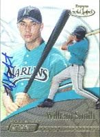 William Smith GCL Marlins - Marlins Affiliate 2001 Topps Fusion Gold Label... by Hall+of+Fame+Memorabilia