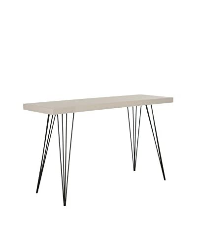 Safavieh Wolcott Console Table, Lacquer/Black