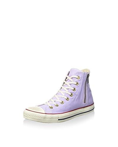 Converse Sneaker Alta All Star Hi Side Zip [Lilla]