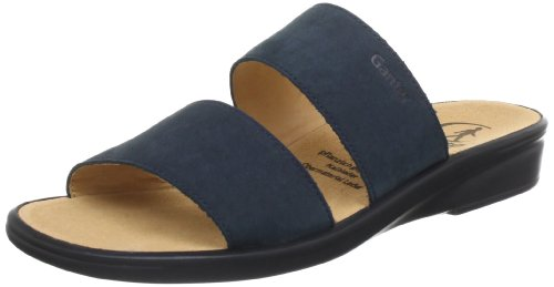 Ganter Sonnica, Weite E Clogs And Mules Women blue Blau (ocean 3000) Size: 4 (37 EU)