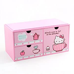 Amazon Hello Kitty Storage Box Tea Time Toys Amp Games