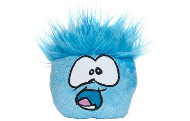 Disney's Club Penguin Plush Puffle - Series 5 - BLUE (4 inch) (Includes Coin with Code)