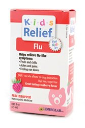 Homeolab USA Kids Relief Flu, Ages 2+ 0.85 fl oz (25 ml)