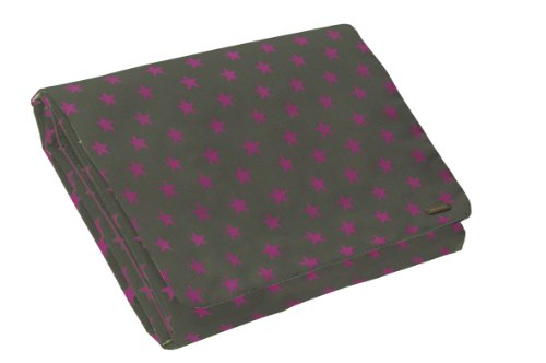 Lassig Wrap-To-Go Bellybutton Stars Pad, Olive