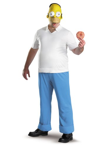 Homer Simpson Costume The Simpsons Costume TV Television Funny Costumes
