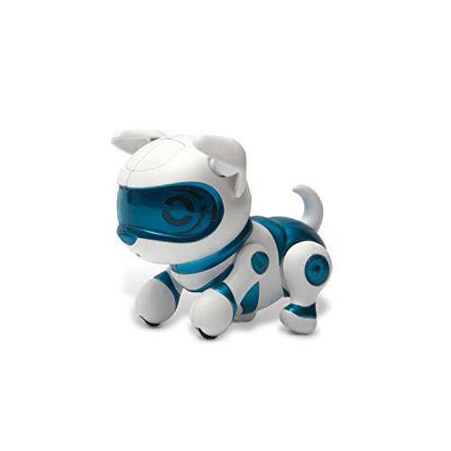 Tekno Newborns Pet Robot Dog, Blue (Robots Toys compare prices)