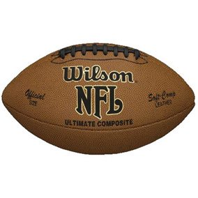Wilson Official NFL Pro Sized Composite Leather