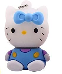 Wewdigi High Quality Really 16GB Hello Kitty Shape USB Flash Memory Driv Key pendant +gift box