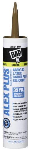 dap-18111-alex-plus-acrylic-latex-caulk-plus-silicone-cedar-tan-101-oz-cartridge-18122