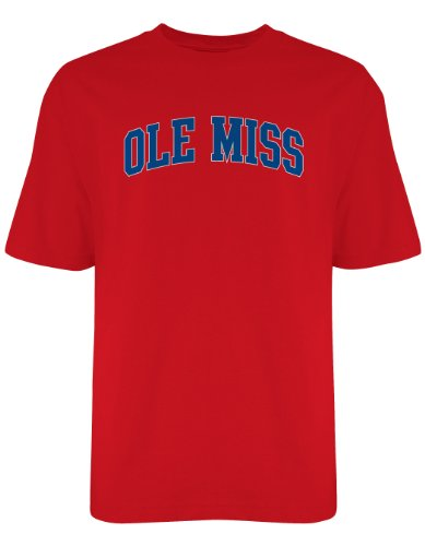 NCAA Men's Wordmark T-Shirt, Team Color 9403