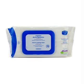 Mustela Dermo Soothing Wipes Skin Care, 70 Count