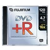 Fujifilm DVD+R 10 Pack; 4.7GB 16x: P10DVPGJ01A (P10DVPGJ01A)
