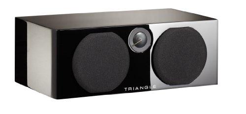 Triangle Color Voce Enceinte centrale 50 W Noir Brillant