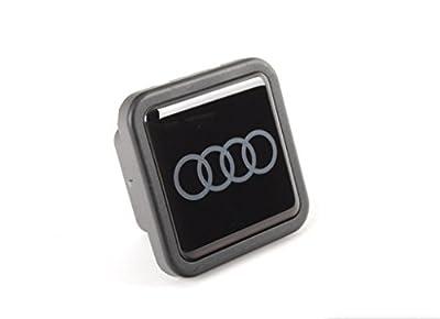 Genuiene Audi Accessories ZAW092702 Carbon Fiber Trailer Hitch Cap
