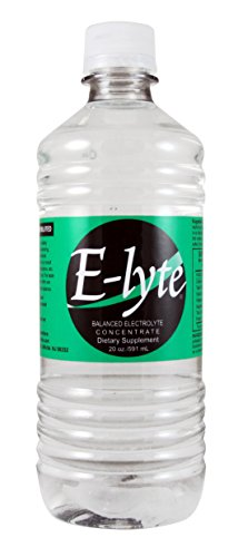 BodyBio | E-lyte Balanced Electrolyte Concentrate | Reduce Cramps, Muscle Aches & Hangovers | Sugar Free | 20oz | 40 Servings