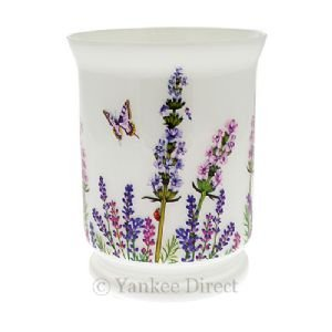 Yankee Candle Hurricane Vase Candle Holder - Lavender Flowers - ILF800 from Yankee Candle